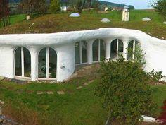 ondergrondse huizen ideeën moderne woning architecutre ideeën groene huizen