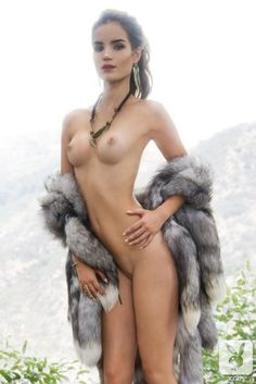 naked fur coat - Google Search