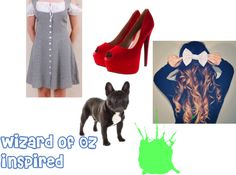 """""""Wizard of Oz inspired"""" by holly-broadhurst ❤ liked on Polyvore"""