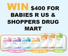 Win $400 Gift Card for Babies R Us & Shoppers Drug Mart *Contest Closes on Nov 15* http://free.ca/contests/win-with-babies-r-us-shoppers/