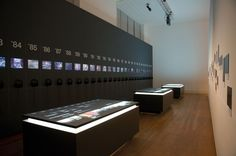 60 Years - 60 Works - multitouch tables and projectors