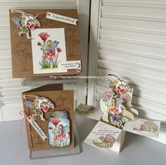 Fairy Celebration, Stampin' Up! - a card-in-a-box