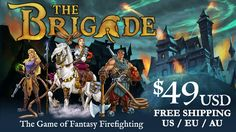 The Brigade - A Board Game of Fantasy Firefighting by Red Genie Games —  Kickstarter