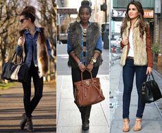 como usar jaqueta couro bege feminina - Pesquisa Google