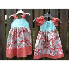 New dresses in Riley Blake fabrics only $40