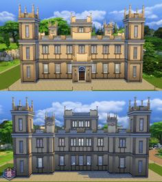 Downton Abbey (Highclere Castle) by Amichan619 at Mod The Sims via Sims 4 Updates