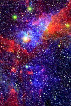 Eta Carina nebula.