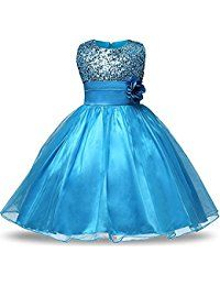 New Tueenhuge Girls Formal Sequin Satin Tulle Wedding Pageant Flower Girl Party Dress online. Find the  great Jack 'n Jill girls clothing from top store. Sku vamz34508uisq27403