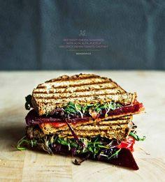 Beetroot Sandwich