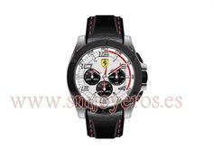 36242449f5b4 Reloj Ferrari Hombre .Modelo 0830031.   Coleccion PIT CREW.   Caja de