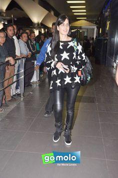 Katrina Kaif Snapped at Mumbai International Airport