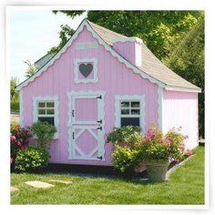 Little Cottage 8 x 12 Gingerbread Wood Playhouse | For My Babies ...
