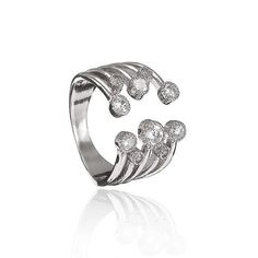 Alloy Rhinestone Inlaid Knunkle Ring