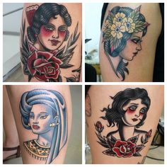 Stefan Draak now full time at True Blue Tattoo Studio Blue Tattoo, Neo Traditional, Tattoo Studio, Drake, Portrait, Tattoos, Tatuajes, Headshot Photography, Retro