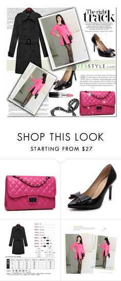 """""""Valentine's day - Yesstyle"""" by cherry-bh ❤ liked on Polyvore featuring Bense Bags, Furifs, Romantica and MAC Cosmetics"""