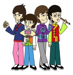 Beatles in China by thehurricanes.deviantart.com on @deviantART