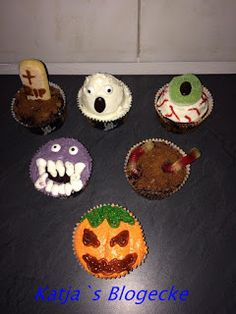 Katja's Blogecke: Halloween Cupcakes