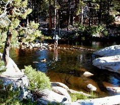 Mono Hot Springs is one of the more developed and established of the options in this part of California. The pools are well maintained, and afford you some pretty amazing Sierra Nevada landscape to take in while you chill out. There are lots of good camping options in the area.