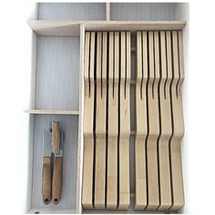 Inst- Knife Drawer from I heart Organizing