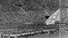 Funeral Ceremony In Munich Olympic Stadium 1972