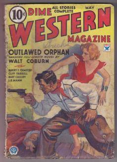 Dime-Western-May-1934-Pulp-Walt-Coburn-Harry-F-Olmsted-George-Shaftel-B-Cassidy