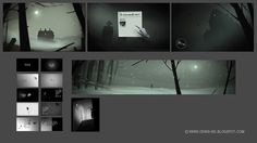 Visual development for video game on Behance