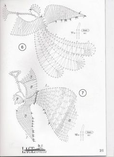 """Журнал """"Lace Express"""" 2000 №3 Bobbin Lace Patterns, Lace Jewelry, Silver Jewelry, Lacemaking, Lace Heart, Needle Lace, Lace Design, Christmas Angels, String Art"""