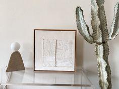 ORIGINAL Textured Canvas Art, Minimalist Artwork, Texture Art, Contemporary Art, Abstract Art, Neutral, Wall Art, Frame, Diy