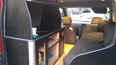 Ford Transit Connect camper conversion