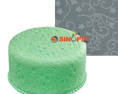 Round Star Silicone Rolling Mat Square Cutting Pad Fondant Cake Decorating Tool $17.89