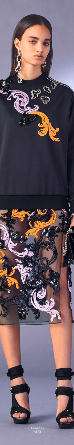 Versace Pre-Fall 2017