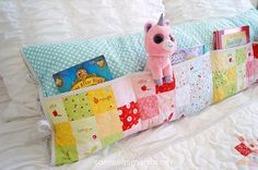 @Samelia'sMum created this cute pocket pillow from Sedef Imer's Sweet Orchard for Riley Blake Designs.
