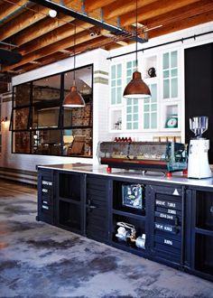 The Grounds, una cafetería de estilo industrial en Sidney | Etxekodeco