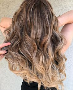 Brown Hair Color With Highlights | Long Hair Balayage,Balayage Hair Colors #haircolor #brownhair #highlighthair #balayage