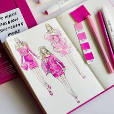 Vikki Yau's Fashionary #Moschino #Barbie