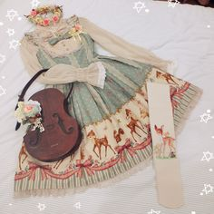 lostnatsu: A Coordinate a Day - 59 My favorite... OMG, this is lovely!! #lolitafashion