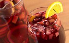 a comidinha: Receita de sangria de vinho