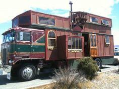 Le Modern gypsy Van