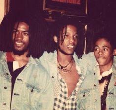 Robbie, Stephen & Damien Marley