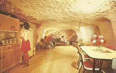 https://flic.kr/p/79Tck4 | Underground House In Coober Pedy. | A typical opal miner house. c 1971