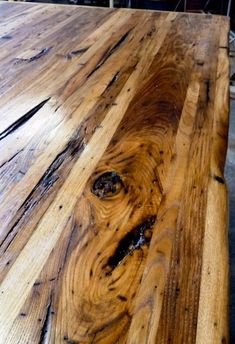 Wormy Chestnut Wormy chestnut, a reclaimed lumber, radiates antique rustic charm. But while the country look is unique and on-trend, this type of wood is soft compared to the others and best avoided when it comes to butcher block.