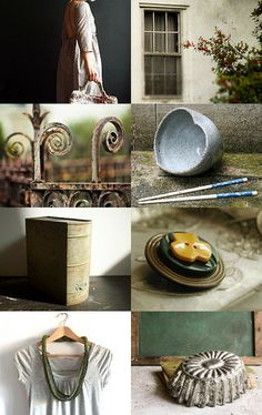 gray green by ms blue on Etsy--Pinned with TreasuryPin.com