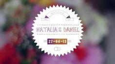 Video de la boda de Natalia y Daniel. Abril 2013 Mxico D.F.  Filmado y Editado por Will Pea www.cineluk.com