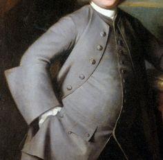 Lancarshire Paunch! Portrait of merchant William Gillison of Melling, Lancashire (d.1780) by George Romney