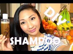 ✿ DIY Homemade SHAMPOO ✿  http://www.youtube.com/aprilathena7