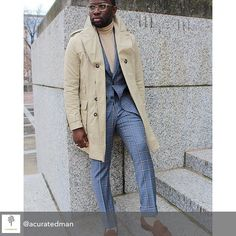 Repost from @acuratedman using @RepostRegramApp - How do I show my approval of a suit? Mainly by wearing it often and in various ways. #therealbespoke #themarkandmarlonway #menstyle #menswear...
