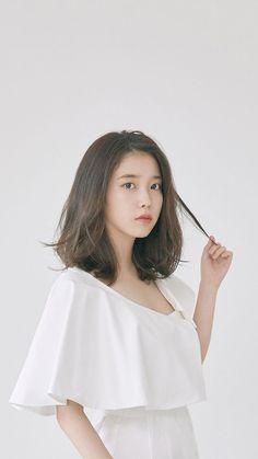 Iu Short Hair, Iu Hair, Korean Short Hair, Haircuts For Medium Hair, Medium Hair Styles, Long Hair Styles, Shot Hair Styles, Korean Actresses, Dream Hair