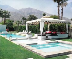 Perfect not-so-little cabana by the pool