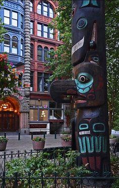 Pioneer Square Totem - Seattle, WA