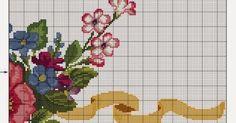 Um blog sobre artesanato, principalmente ponto cruz e crochê.
